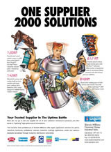 industrial MRO trade magazine ad copywriting