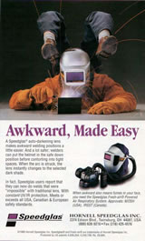 Speedglas Awkward Made Easy ad