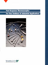 Wahlco Thermocouples brochure